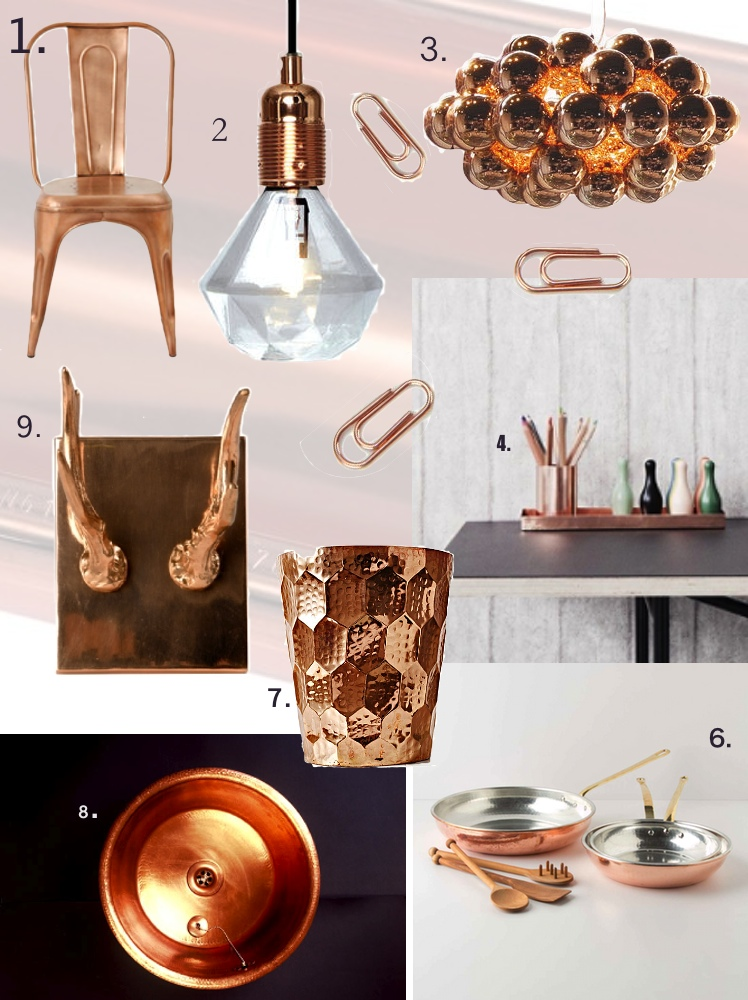 Copper home Accessories