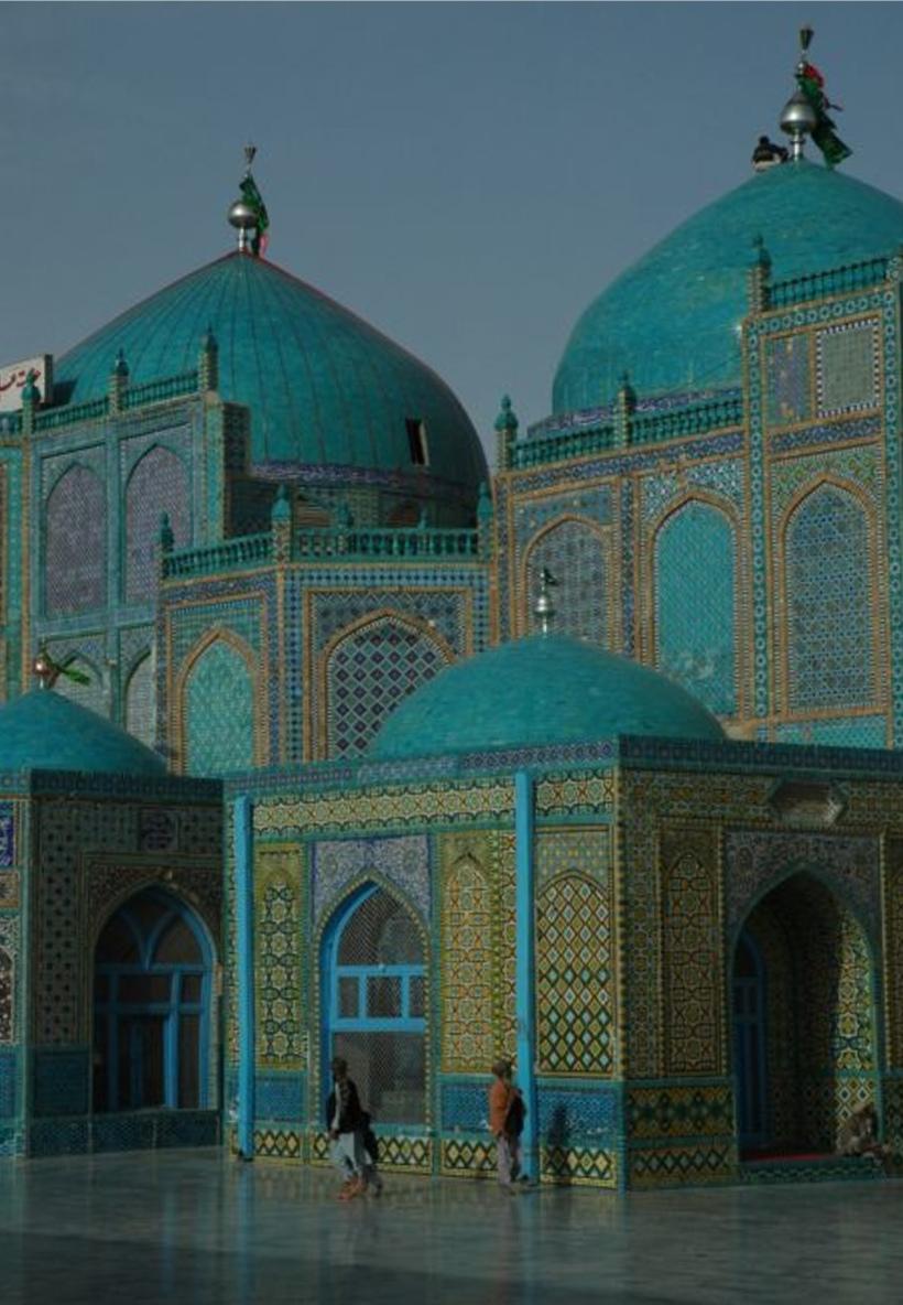 stunning blue mosque